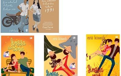 2 Novel Series Temani Liburanmu di Bandung