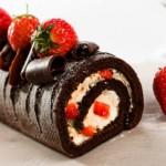 Resep Kue Bolu Gulung Coklat Hitam Manis