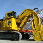 Giant Komatsu Excavator PC 8000-6