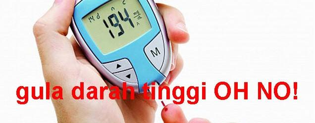 Gula Darah Tinggi Berbahaya