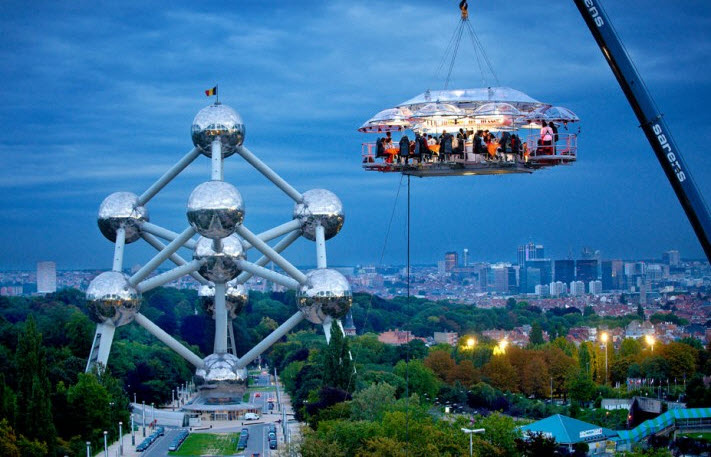 Dinner in the Sky, Belgia