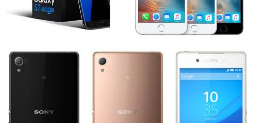 3 Daftar Merk Handphone Terbaik Tahun 2016