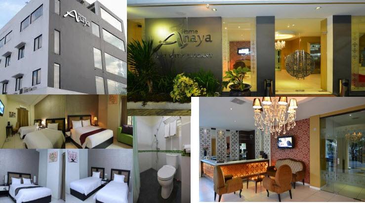 Home Anaya Hotel, Hotel di Meda Murah