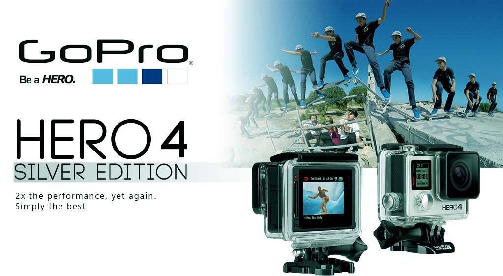 Kamera Go Pro Hero4 Silver