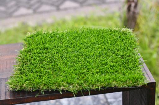 Rumput Sintesis untuk Dekorasi Taman