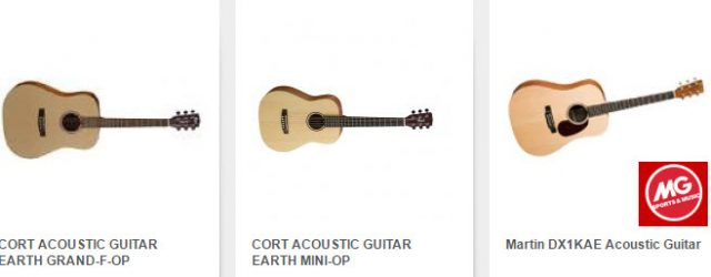 Belanja Gitar Akustik di MG Sport dan Music