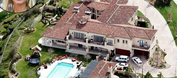 Rumah Britney Spears, $7.9 Million