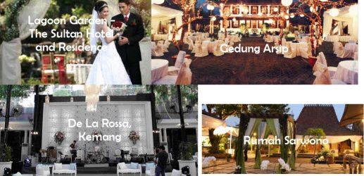 Outdoor Wedding Venue di Jakarta