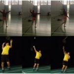 Overhead Clear, Teknik Dasar Dalam Olahraga Bulutangkis