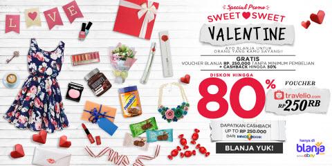 Promo Hari Valentine di Blanja