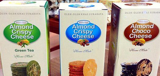 Almond Crispy Cheese Surabaya